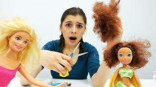 Новая прическа Винкс! Видео для девочек с Барби
