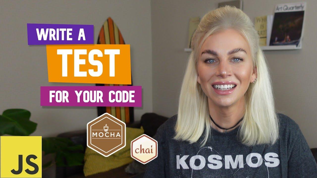 Write a Unit Test for JavaScript (Super Simple!)