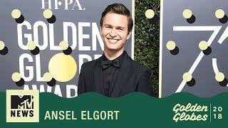 Ansel Elgort & Edgar Wright On Baby Driver 2 | Golden Globes 2018