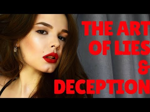 The Art of Lying and Manipulation | Chooseyourrelationships.com/start-here