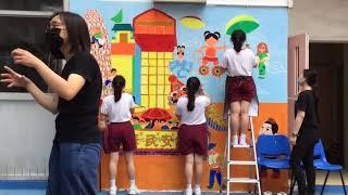 Publication Date: 2021-09-08 | Video Title: 佛教林炳炎紀念學校 -- 壁畫創作活動