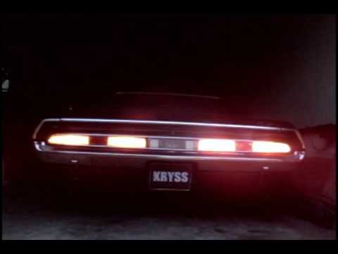 70 Dodge Challenger Led Rear Tail Lights Test Youtube