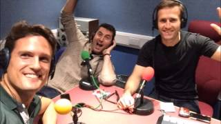 Blake on BBC Radio Merseyside with Billy Butler May 15, 2014