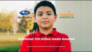 Love Promise Feeding America 2021 | :30 Subaru Commercial