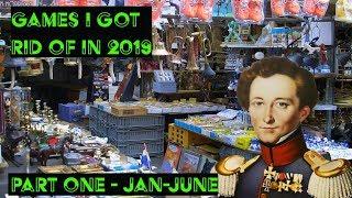 Games I got rid of June 2019