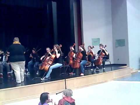 Seaman Middle School orchestra Boulevard of Broken
