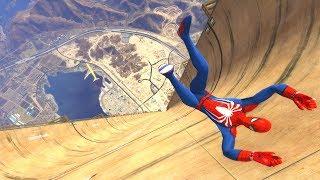 GTA 5 Epic Ragdolls/Spiderman Compilation vol.4 (GTA 5, Euphoria Physics, Fails, Funny Moments)