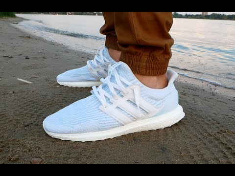 8d0b38446 White Parley Ultra Boost Review   On Feet - OhitsTeddy s Denver Popup -  Sneaker Stain Repellents