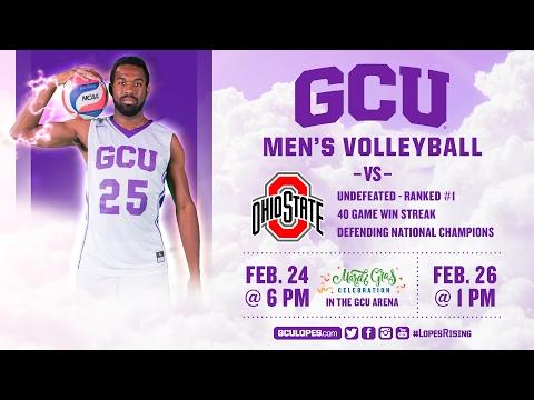 Men's Volleyball vs Ohio State Feb 26th, 2017