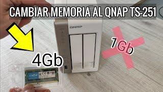 AMPLIAR MEMORIA QNAP TS-251