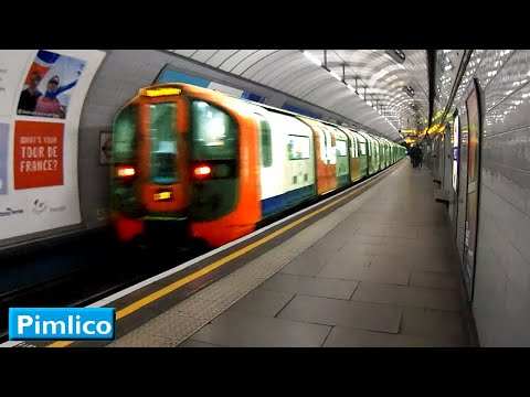 Pimlico | Victoria line : London Underground ( 2009 Tube Stock )