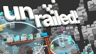 UNRAILED! - #15 - RETURN TO SPACE!! (4 Player Gameplay)