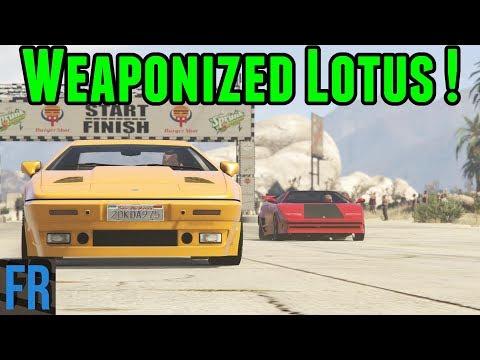 Weaponized Lotus ! - Street Race Career Part 14 (Gta 5 Mods)