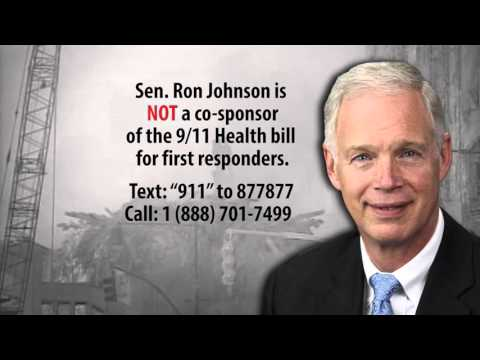 Senator Ron Johnson is not a co-sponsor of the 9/11 Health bill