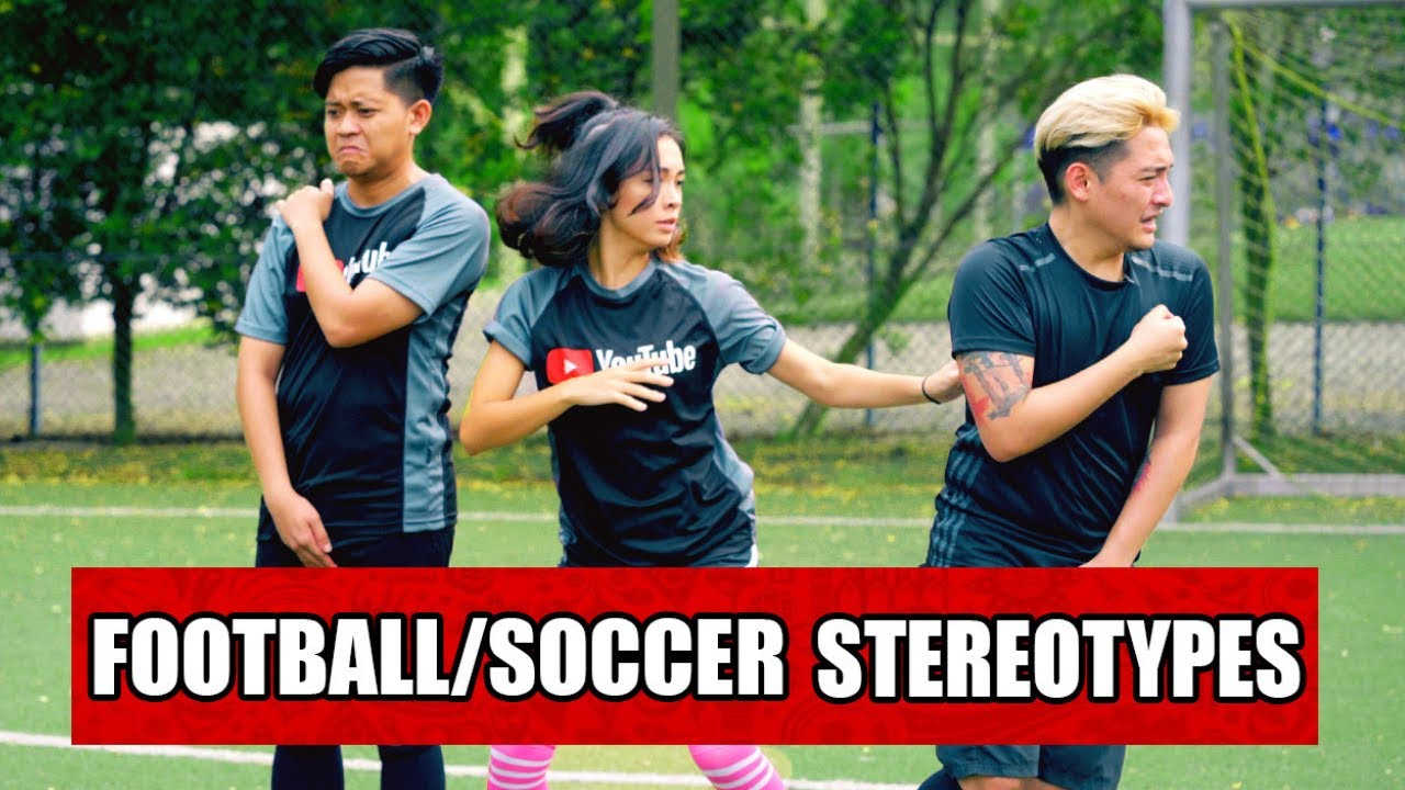 13 types of people who play football soccer youtube