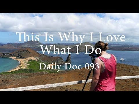 This Is Why I Love What I Do Galapagos Islands Travel Guide | Daily Doc 93