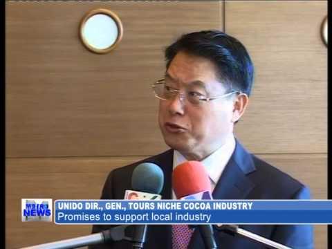 UNIDO Director General, LI Yong visits Ghana and tours enterprises.