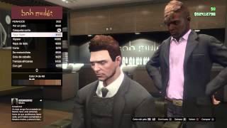 GTA V (PS4) como cambiar el color de pelo y barba del personaje?