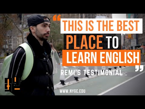 Why LEARN ENGLISH In NEW YORK | Student's Testimonial About English School In NY  | NYGC Institute