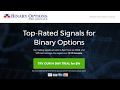 Top-Rated Signals for Binary Options. Binary Options Pro Signals!