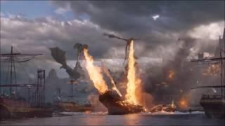 Game of Thrones | Season 6 - episode 9 | Soundtrack - Reign | Battle of Mereen