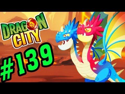 DRAGON CITY - ẤP THÀNH CÔNG RỒNG 2 ĐẦU CỰC ĐẸP - GAME NÔNG TRẠI RỒNG #139