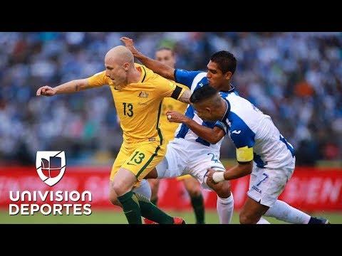 Honduras 0-0 Australia |Partido de ida Repechaje