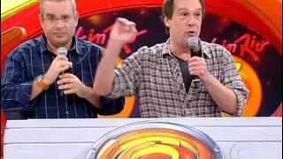 Bola e Emilio Surita no Caldeirão do Luciano Huck (03-09-11)