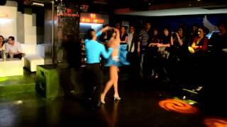 Concurso de Salsa en SPA - 2da Semifinal - Oscar y Annette 7-09-12