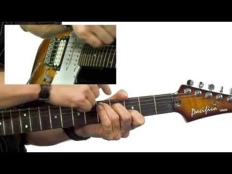 Guitar Interactives - #35 Pop Style Comping - Guitar Lesson - Robbie Calvo