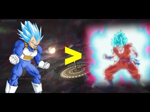 Vegetas New Formultra Blue Is Stronger Than Goku Super Saiyan