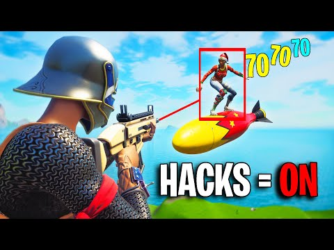 I Pretended to be FaZe Jarvis and Then HACKED Creative Fills...