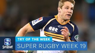 TRY OF THE WEEK: 2018 Super Rugby Week 19