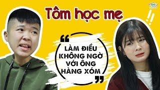 Tổng Hợp Các Clip Hài Hước Của Tôm Lẩu Thái   Phần 6: Tôm Học Mẹ Làm Điều Không Ngờ Với Ông Hàng Xóm