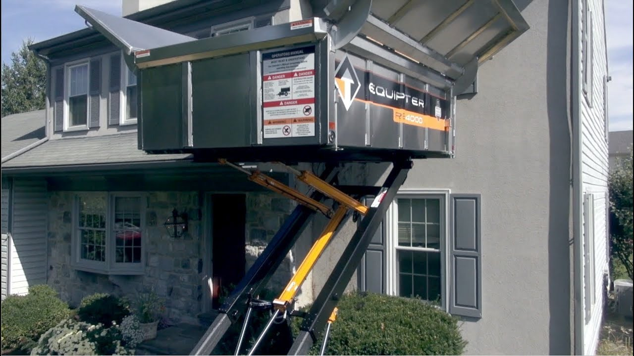 Equipter Rb4000 Roofing Trailer Youtube