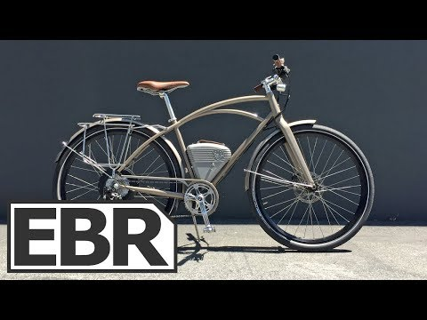 Vintage Electric Cafe Video Review - $4k Powerful, Quiet, Stylish Electric Bike