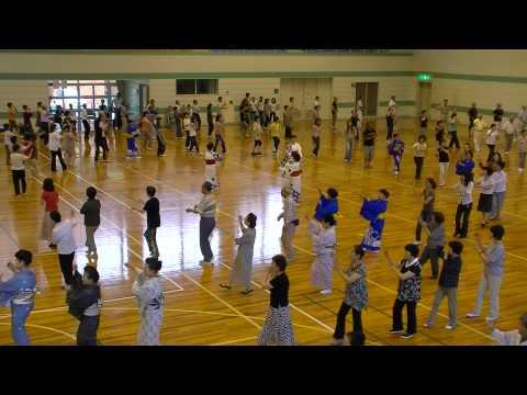 『炭坑節』東郷町民踊講習会2010
