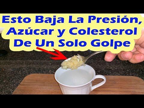 Esto Baja La Presión Azúcar y Colesterol De Un Solo Golpe COMO BAJAR LA PRESIÓN AZÚCAR Y COLESTEROL