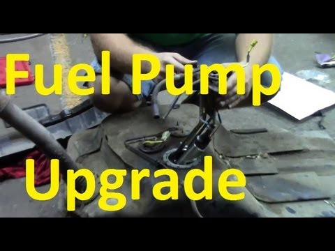 hqdefault fuel pump upgrade fuel pump replacement walbro 255 1jz supra  at alyssarenee.co