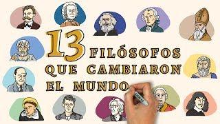 13 filósofos que cambiaron el mundo