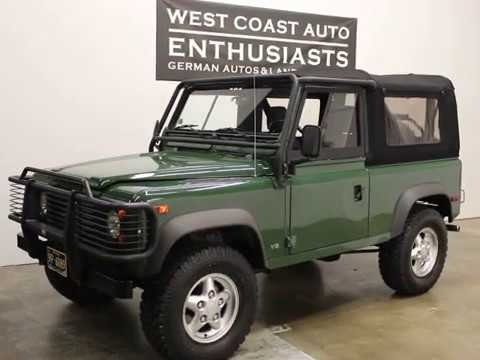 1995 Land Rover Defender 90 Softop w/81k Miles