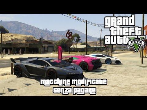 GTA V-Macchine modificate senza pagare