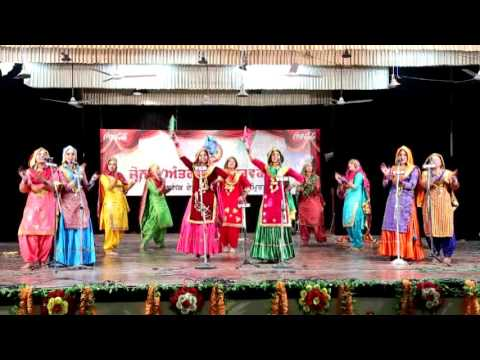HMV college jalandhar gidha 2015 winners of zonal and interzonal youth festival held at GNDU (asr)