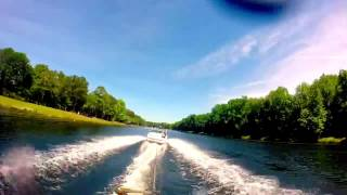 Slalom Skiing @ Trophy Lakes
