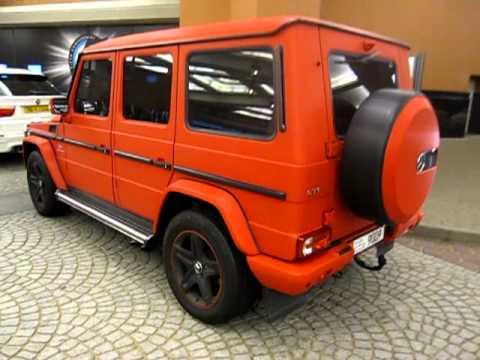 mercedes benz g55 amg custom matt red carbon paintjob youtube