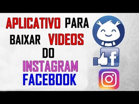 COMO BAIXAR VIDEOS DO FACEBOOK E INSTAGRAM PARA O IPHONE