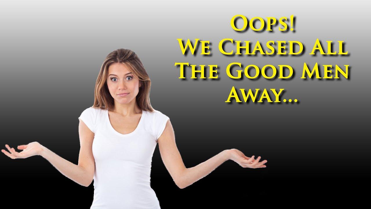 YT channel Jennifer Moleski begs women, knock it off... we're chasing men away.