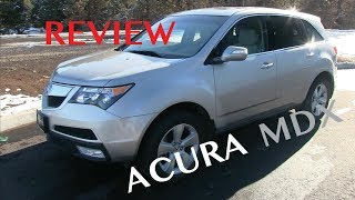 2007-2013 Acura MDX Review (2nd Generation)