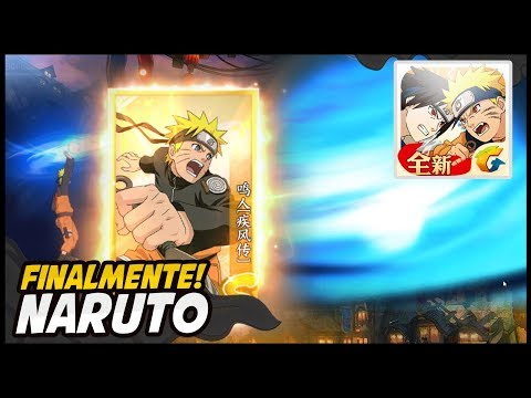 FINALMENTE PEGUEI ELE! Muita sorte kkk   Naruto OL Mobile