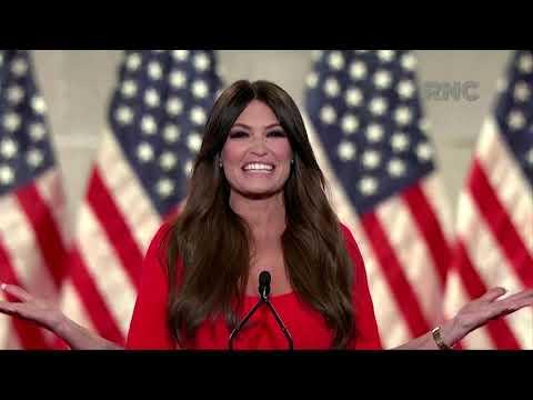 Kimberly Guilfoyle RNC speech: Donald Trump Jr.'s girlfriend ...